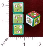Dice : MINT30 PRINT AND PLAY PRODUCTIONS CHUNKY FIGHTERS SLIME TOWER 01