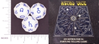 Dice : D12 OPAQUE SHARP SOLID WHITE ASTRO DICE 01
