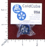 Dice : MINT48 BATTLESCHOOL BATTLEDICE COLDCUBE USA