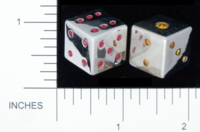 Dice : METAL CHROME D6 GAME SOURCE INTERNATIONAL 02