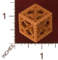 Dice : MINT31 SHAPEWAYS STUFFVILLE INDUSTRIAL DIE PLASTIC 01