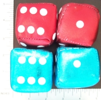 Dice : FOAM RI NOVELTIES 03