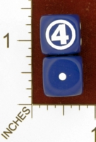 Dice : MINT26 CHESSEX MARVEL FANTASTIC FOUR 01