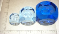 Dice : GLASS2 INLIGHT 03 LT BLUE