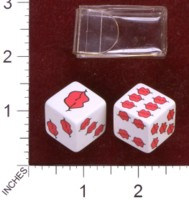 Dice : MINT34 SPENCER GIFTS LIPS 01