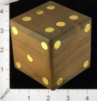 Dice : MINT25 UNKNOWN WALNUT BRASS 01