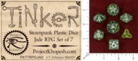 Dice : MINT48 PROJECT KHOPESH TINKER DICE II JADE