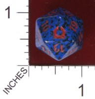Dice : D20 OPAQUE ROUNDED SPECKLED MTG LIFE COUNTERS RETURN TO RAVNICA 03