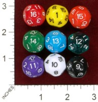 Dice : MINT44 IMPACT MINIATURES D16