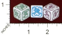 Dice : MINT43 TINDERBOX ENTERTAINMENT DICE EMPIRE SERIES 1 LEFT HANDED