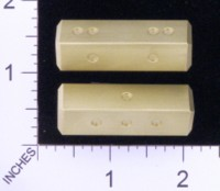 Dice : MINT19 ACE PRECISION D4 BRASS SITCK PIPPED 01