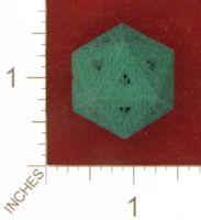 Dice : MINT25 SHAPEWAYS WILLAPUERTA 20 SIDED MAZE DIE 02