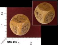 Dice : MINT31 UNKNOWN CHINESE WOOD 01