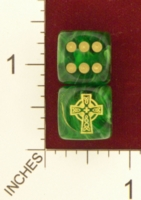 Dice : MINT21 CHESSEX FOR JSPASSINTHRU CELTIC CROSS
