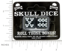 Dice : MINT13 UNKNOWN SKULL 01