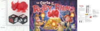 Dice : NON NUMBERED OPAQUE ROUNDED SOLID GAMEWRIGHT CURSE OF THE RUBY RHINO 01