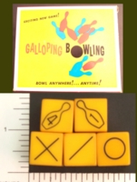 Dice : SPORTS D6 GALLOPING BOWLING