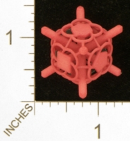Dice : MINT27 SHAPEWAYS MCTRIVIA D6 GRID DIE 15 07