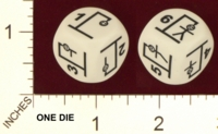 Dice : MINT19 CHESSEX HANGMAN 01