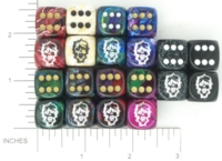 Dice : MINT15 KING ZOMBIE CHESSEX CUSTOM 14