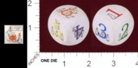 Dice : MINT21 THE TRADITIONAL GAMES CO PETER RABBITS BLACKBERRY GAME 01