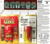 Dice : MINT26 ENGINUITY LLC SPICY FARKEL 01