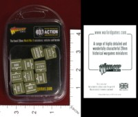 Dice : MINT33 WARLORD GAMES BOLT ACTION ORDER DICE GREEN 01