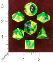 Dice : MINT35 CHESSEX 2013 POLY COLORS 04