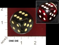 Dice : MINT32 UNKNOWN GERMANY BAKELITE 01