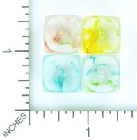Dice : MINT54 BESCON NEBULA DUAL COLOR