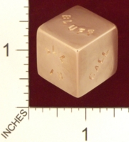 Dice : MINT20 JETCO POKER 01