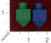 Dice : MINT43 UNKNOWN DREIDEL CRAYON