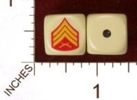 Dice : MINT29 YAK YAKS US MARINE CORPS SEARGENTS STRIPES 01