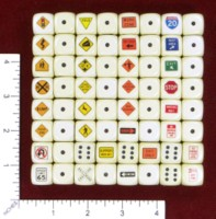 Dice : MINT46 HOMEMADE UNITED STATES ROAD SIGNS