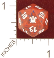 Dice : D20 OPAQUE ROUNDED SPECKLED MTG LIFE COUNTERS INNISTRAD 01