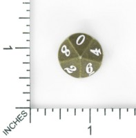 Dice : MINT61 UNKNOWN CHINESE ZINC ITALIC ANCIENT ANTIQUE BRASS BRONZE RECOLOR