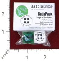 Dice : MINT44 BATTLESCHOOL BATTLEDICE BUDAPACK SIEGE OF BUDAPEST