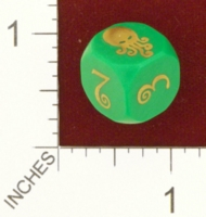 Dice : MINT25 UNCONVENTIONAL DICE CTHULHU 01