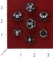 Dice : MINT33 SHAPEWAYS AVANDIUS JACK DICE SET 01