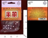 Dice : MINT32 KOPLOW 6 ACE SHAPES 01