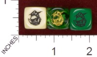 Dice : MINT34 CHESSEX CUSTOM ORC 01
