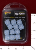 Dice : MINT39 WARLORD GAMES BOLT ACTION ORDER DICE 04