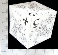 Dice : PAPER D06 Q-WORKSHOP DICE DESIGN CONTEST NOVEMBER 2007 RADEK CHODOROWSKI  01