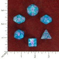 Dice : MINT50 CHESSEX BLACK CAITLIN CLAIRE RECOLOR