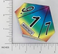 Dice : PAPER D10 MICROTACTIX 06