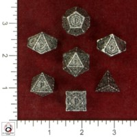 Dice : MINT48 PAIZO Q WORKSHOP PATHFINDER METAL STEEL