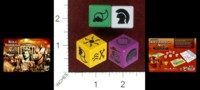 Dice : MINT42 GRYPHON GAMES ROLL THROUGH THE AGES THE IRON AGE FATE DICE