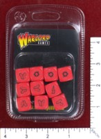 Dice : MINT50 WARLORD GAMES PROJECT Z RED