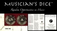 Dice : D12 PHILOMUSE MUSICIANS DICE 01