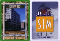 Dice : THINGS SIM CITY CCG KOPLOW DICE 01